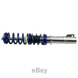Coilover Suspension Damper Kit For Vw Golf IV 1.9 Tdi 4 Bora New