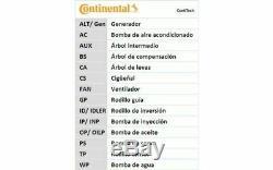 Contitech Timing Belt Kit For Audi A3 A4 Volkswagen Golf Bora Ct1028k2