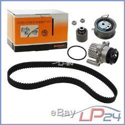 Contitech Timing Belt Kit + Water Pump Vw Golf 5 1k 1.9 Tdi 2.0 Sdi