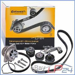 Contitech Timing Belt Kit + Water Pump Vw Golf Plus 5m 5 1k 1.4 16v