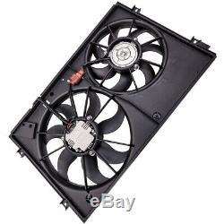 Cooler Fan For Audi A3 8p / Vw Golf 5 1k0121207t / 1k0959455bc Nine