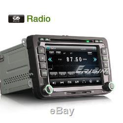 DVD Gps Dab + Car Radio For Touran Golf 5 6 Passat Tiguan Tiguan Jetta Seat Skoda