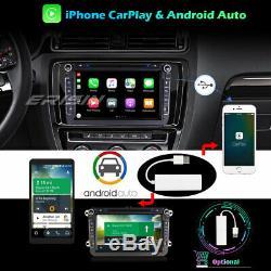 Dab + 10.0 Android Gps Tnt Autoradio For Vw Passat Golf Polo Tiguan Jetta 5/6 Seat
