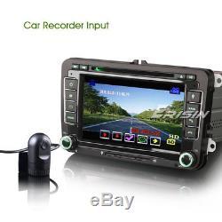 Dab + Car Radio For Vw Seat Skoda Leon Golf Polo Eos Bluetooth CD Usb 3g Gps 7148f