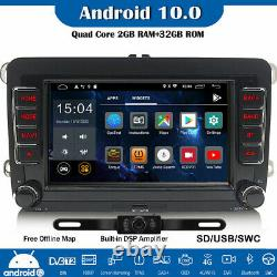Dab + Dsp Android Car 10 2 + 32gb Gps For Vw Passat Polo Tiguan Jetta Golf 5