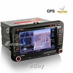 Dab + Radio Gps For Vw Passat CC Polo Golf Touran Tiguan Caddy Bt Tnt Ops DVD