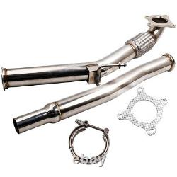 Downpipe Down Pipe Inoxidable Steel For Vw Golf 5 6 2.0 Tfsi 2.0 Gti 3in /76mm