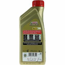 Filter Revision Castrol 7l Oil 5w30 For Vw Golf VII 5g1 Be1 2.0 Gti