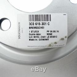 Front Brake Disc 340mm Vw Golf Gti 7 R Performance Passat B7 Skoda Octavia Rs