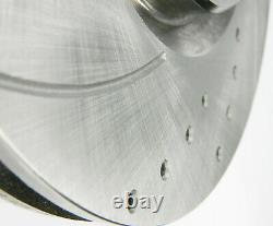 Front Perforated Brake Discs - Rear Aerated Internally Vw Golf V Golf VI