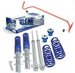 Jom Kit Combined Threaded + Tuning-stabilizer Vw Golf 4, Audi A3 8l, León