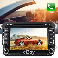 Kit 2 '' Stereo Car DVD Stereo Rds Gps Usb For Vw Passat T5 Mk5 Golf Mk6