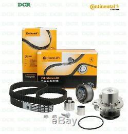 Kit Distribution Belt Contitech + Water Pump Bugatti Vw Golf VII 1.6 Tdi