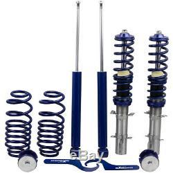 Kit Suspension Combine Thread For Vw Golf IV 1.8 T Turbo Adjustable Shock Absorber