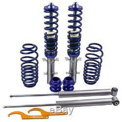 Kit Suspension Combine Thread For Vw Golf Mk4 1.8 T Turbo Adjustable Shock Absorber