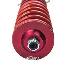 Kit Suspension Damper For Vw Golf Mk4 1.8 Turbo T Adjustable Coilover New