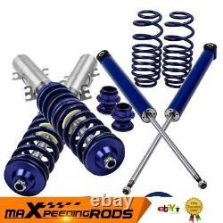 Kit Suspension File Combine For Vw Golf Mk4 1.8 T Turbo Adjustable Shock Absorber
