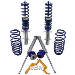 Kit Suspension Threaded For Audi A3 8l1 Vw Mk4 1.9 Tdi Fwd Structs
