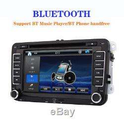 Map + Car Gps For Vw Seat Skoda Leon Golf Polo Eos Bluetooth CD Usb + Canbus