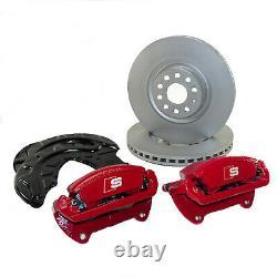 Original Audi Stairs Front A3 S3 8v Q2 Sq2 Grand Brake 340mm Brake Discs