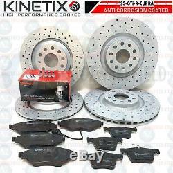 Performance Perforated Brake Discs Brembo Pads S3 / Golf Mk7 R / Leon Cupra