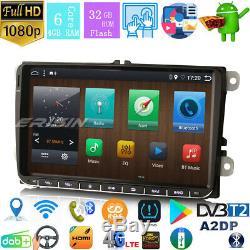 Px6 Dab + Radio Android 9.0 Paho Vw Passat Golf Tiguan Touran 5/6 Seat Skoda 9