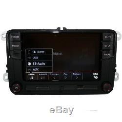 Radio Rcd330 Allemandmirrorlink Easylink Bt Usb Pourvw Polo Golf Passat Eos