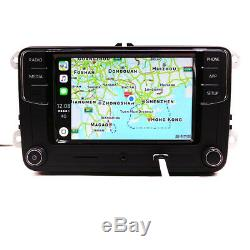 Radio Rcd330 Carplay, Android Auto, Bt, At, Rvc For Vw Golf Polo Touran Tiguan