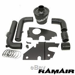 Ramair Cone Air Filter Intake Kit For Vw Golf Gti (mk5) 2.0 Tfsi