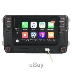 Rcd330 + Gateway Car Radio Carplay Mirrorlink Bt Vw Vw Golf Tiguan Polo CC Skoda