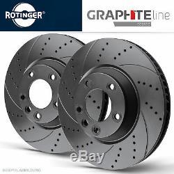 Rotinger Graphite Line Sport Brake Discs Front Audi A3 8p, Golf V