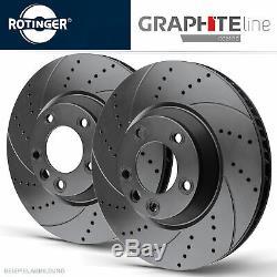 Rotinger Graphite Line Sport Brake Discs Front Audi A3 8p, Golf V, VI
