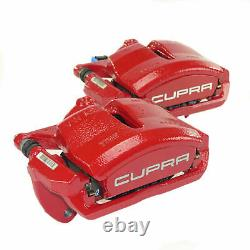 Seat Leon 5f Cupra R Front Strap Kit Original Stool + Brake Coatings 340mm