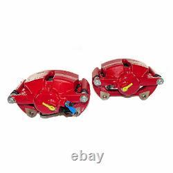 Seat Leon Cupra 5f Braking System Brake Calipers Perforated Discs 340 310mm