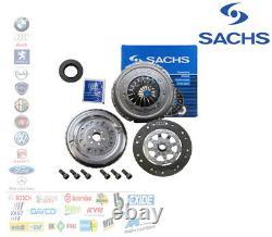 Super Set 4 Parts Inertial Steering Wheel Bimass Clutch Audi A3 Vw Golf 5 6 1.9