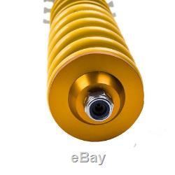 Suspension Kit Shock Absorber For Vw Golf Mk4 1.8 T Turbo Adjustable Coilover
