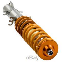 Suspension Shock Kit For Vw Golf Mk4 1.8 Turbo T Adjustable Coilover New