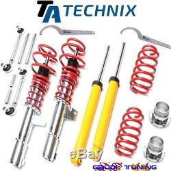 Ta-technix Combined Threaded & Adjustable Golf 5 / Passat Coupling Rods