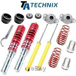 Ta-technix Threaded Combination + 4 Bearings + Ball Bearings Vw Golf 4 / Bora /
