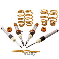 Threaded Absorber Assemblies For Vw Golf Mk5 Mk6 Passat 3c Touran 1t Suspension