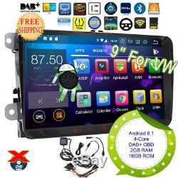 Tnt Car Radio For Vw Seat Golf Skoda Leon Eos Android 8.1 Dab + Tpms 93818fr
