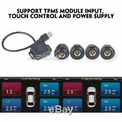 Tnt Dab + Android 9.0 CD Tuner For Vw Golf Polo T5 Multivan Passat Peugeot 307