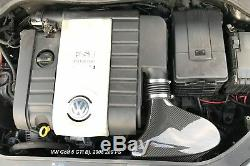 True Carbon Counter-pressure Air Intake On Audi Vw Golf Gti 1.8 2.0 Tfsi