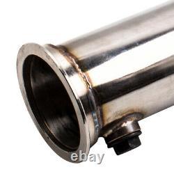 Turbo 3 T304 Inoxed Steel Decat Downpip For Vw Golf Mk5 Mk6 2.0 Gti Fsi
