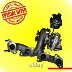 Turbocharger Bmn Bmr Buy Buz Vw 2.0 170cv 757042-1 03g253010a 03g253014k