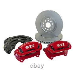 Vw Golf 7 VII Gti Performance Brake Front Calipers 340mm Brake Discs