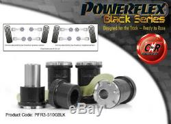 Vw Golf Mk4 R32 / 4wd 97-04 Powerflex Black Interior Rrarm Hub Camber
