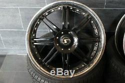Vw Golf Seat Beetle Audi Tt Schmidt Rims Alloy 8.5j X 19 Inches 5x100
