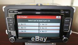 Vw Rcd510 Car CD Rds To Caddy Golf Tiguan Passat Polo Caddy With French