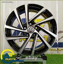 Wonder 4 Wheels In Alloy Nad 7.5 18 5x112 Et45 57.1 Audi A3 Vw Golf 7 8 Leon